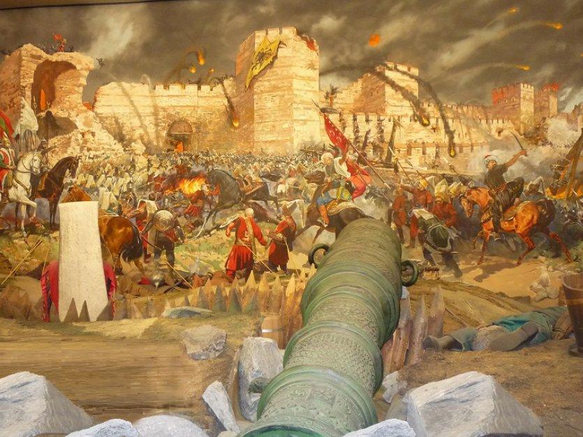 İstanbul Un Fethi Konstantinopolis D 252 ş 252 Yor Tarihi Olaylar